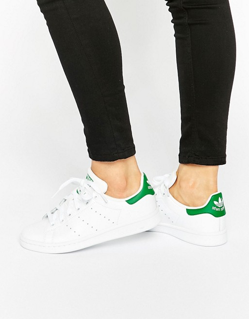 adidas Originals – Stan Smith – Unisex-Sneaker in Weiß und Grün